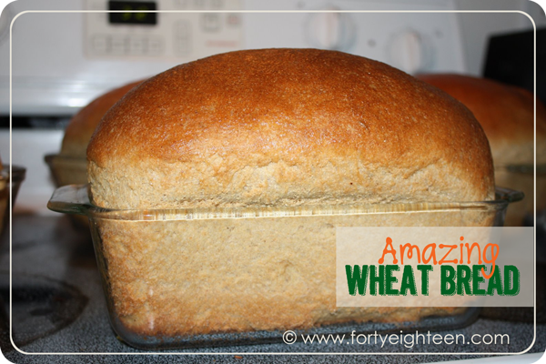 Amazing Supermom Wheat Bread | Forty Eighteen #wheat #bread