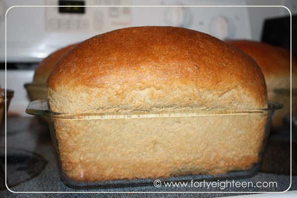 Amazing Supermom Wheat Bread | Forty Eighteen #wheat #bread