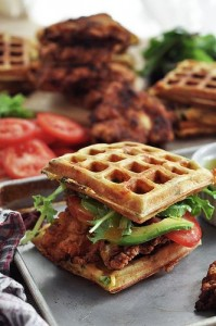 I love how creative people get with their waffles! So many fun ideas for breakfast, lunch, AND dinner.