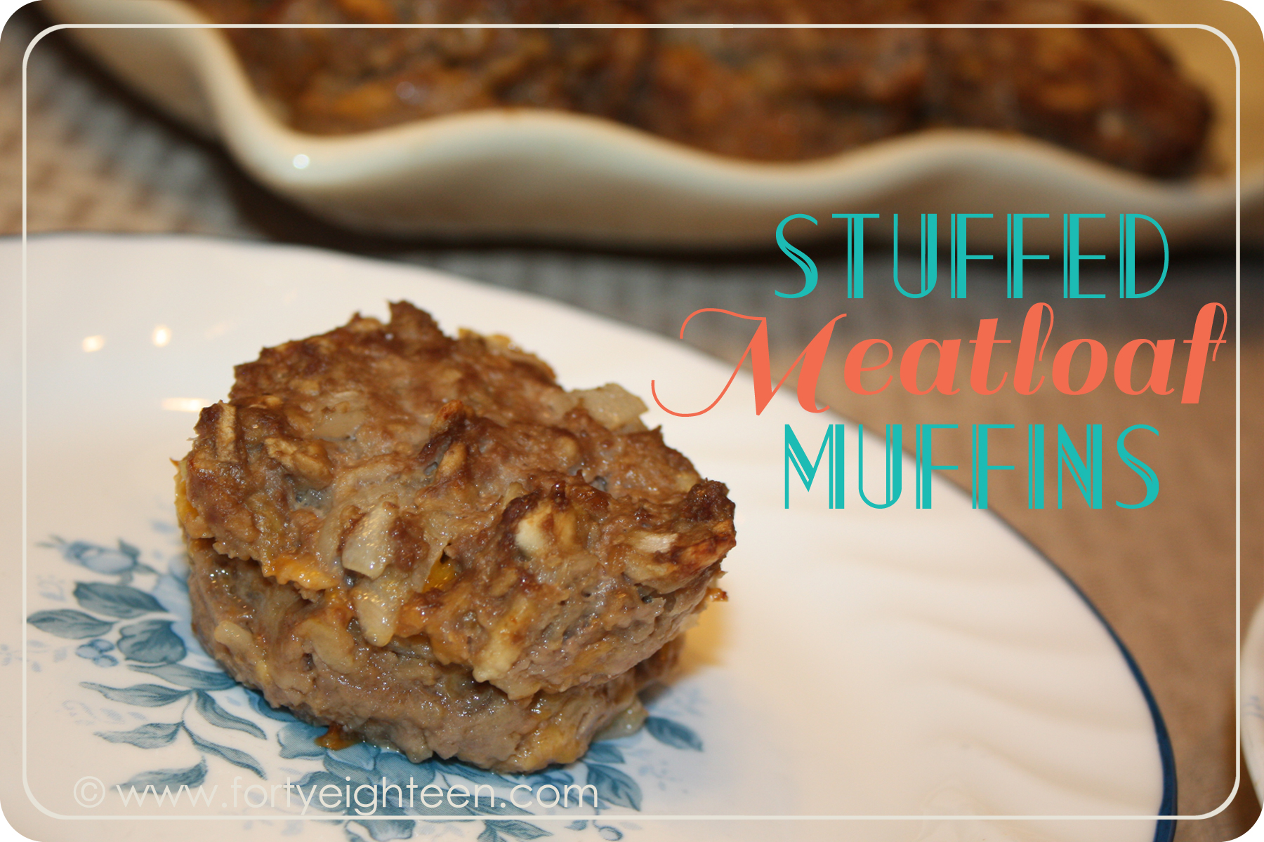 My family cheers when I make these fabulous Stuffed Meatloaf Muffins - they freeze well, too!