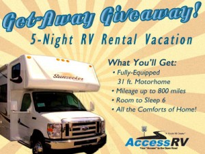 I want to #travel somewhere as gorgeous as this when I #win this RV #giveaway.