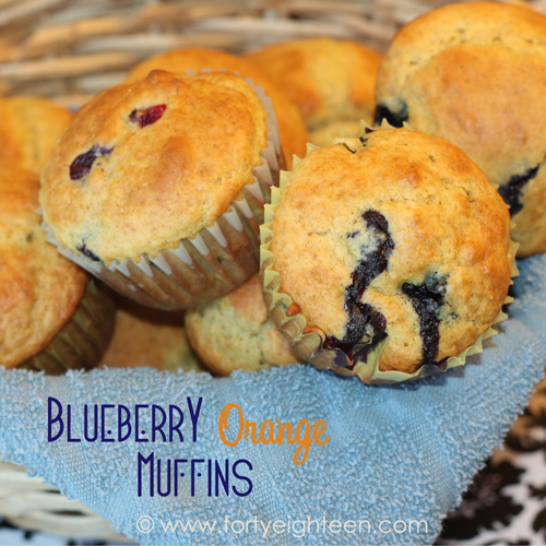 These blueberry orange muffins taste like a little bit of sunshine. These are perfect for school morning breakfasts!