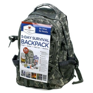 survival backpack