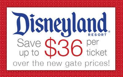 Disneyland discount 2016