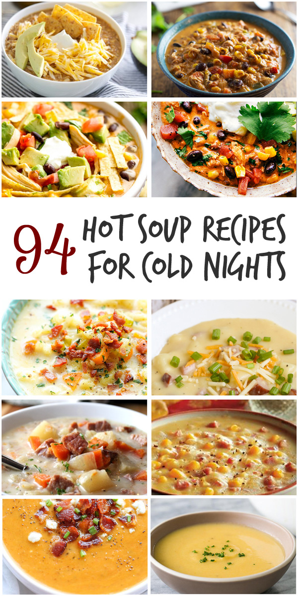 As soon as fall hits, I'm ready for soup. This one post could last me all winter with all of these fabulous soups!!