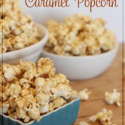 Crazy Good Caramel Popcorn