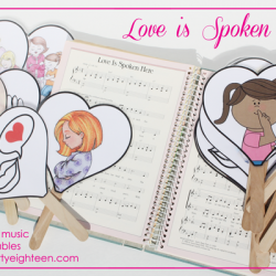 Teaching Primary Music: Love is Spoken Here